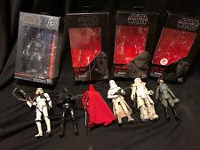Hasbro Star Wars Black Series Imperial Trooper LOT Sand Range Snow Death Veers
