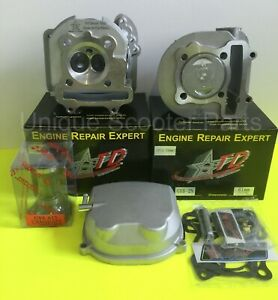 Scooter GY6 150cc Taida 61mm Big Bore Combo Kit Cast or Forged 171cc
