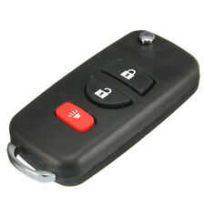3Button Folding Flip Remote key Case For Nissan Frontier Murano Quest 2002-2010