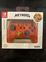 PowerA Nintendo Switch Wired Controller Chrome Samus (Metroid) 1506374-01 NEW