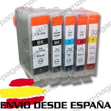 5 CARTUCHOS DE TINTA COMPATIBLES NonOem CANON PIXMA IP4200 | PGI-5eBK CLI-8