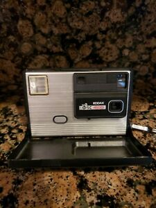Kodak DISC 4100 Instamatic Camera Vintage 1980's Not tested. 4 parts/ aesthetic