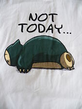 T-Shirt - Pokemon - Snorlax - Not Today