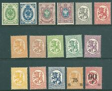 FINLAND 1901-1921 mint stamp collection