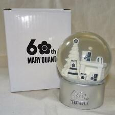 MARY QUANT 60th Anniversary Snow Globe Christmas 2015 Novelty Unused Rare F/S
