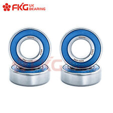 6204-2RS C3 FKG Premium Rubber Sealed Ball Bearing, 20x47x14, 6204RS  (4 QTY)