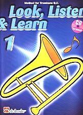 LOOK LISTEN & LEARN 1 Method for Trombone BC & CD*
