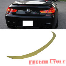 """""""Stock IN USA Unpainted BMW V Type F12 Convertible  Trunk Spoiler Wing 640i 650i"""