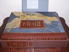 Folio Society Limited Ed. Poems of Thomas Gray (Illustrated by William Blake)