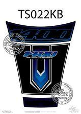 Suzuki GSX 1400 tank pad Noir/Bleu (TS022KB) 2001-2008