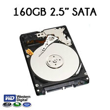 "160GB 2.5"" Sata Western Digital/HITACHI Hard Disk Drive per Laptop Mac PS3 PS4"