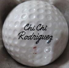 (1) Chi Chi Rodriguez Signature Logo Golf Ball (Made In Usa Ss Cir 1964) #1