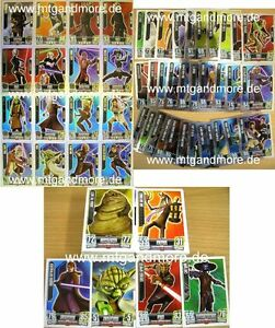 Star Wars Force Attax Serie 2 Komplettset 240 Karten