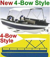 "78""-86"" Boat Bimini Top Cover,4-Bow Folding Frame,Pontoon,Wholesale,New"