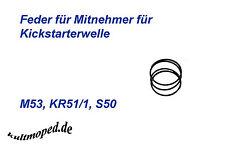 Simson Feder für Mitnehmer Kickstarterwelle KR51 SR4 Duo 4.1 ORIGINALTEILE DDR