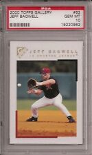 2000 Topps Gallery #63 Jeff BAGWELL - PSA 10+++ RARE pop 2