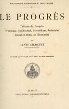 LE PROGRES. Tableau du Progrès par H. GILBAULT