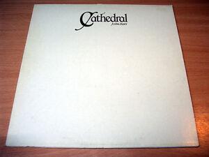 EX/EX- !! John Kerr/Cathedral/1983 Black Plastic LP