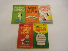 5 Snoopy books: Think Thinner, Jogging is in, There's No One Like You & more