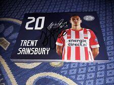 Signierte AK Trent Sainsbury PSV EINDHOVEN NEU MEGA RAR