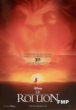 THE LION KING 3D - DISNEY - ORIGINAL SMALL FRENCH MOVIE POSTER