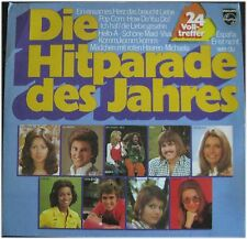Die Hitparade des Jahres, 24 Volltreffer, Sampler VG/VG,  2  LP (6139)