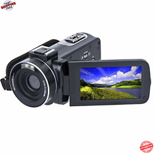 Camara De Video Portatil Vlogging Familiar Recuerdos 24MP Full HD Recargable