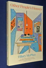 OTHER PEOPLE'S HOUSES Hilary McPhee EXPAT WRITER MEMOIR Book Italy London Jordon