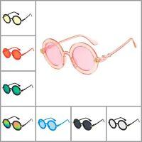 Kids Round Sunglasses UV400 Children Fashion Eyewear Gradient Girls Eyeglass