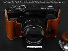 LOWERED PRICE,ENDED PRODUCTION,LUIGI's HALF CASE+STRAP FOR FUJI FINEPIX X-PRO1