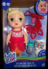 Baby Alive Face Paint Fairy Blond Doll New