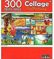 BRAND NEW Cra-Z-Art 300 Piece Puzzle Collage Collections - Hawaiian Paradise