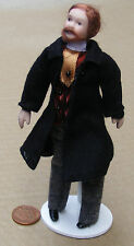 1:12 scale Victorian Bearded Man Dolls House porcelain People Accessory 159