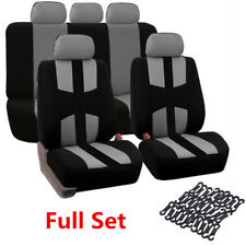New 9PCS Full Set Car Seat Covers Interior Chair Protector Washable Universal