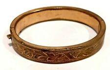 Antique Victorian Gold Filled Child's Girl's Bangle Bracelet #B524