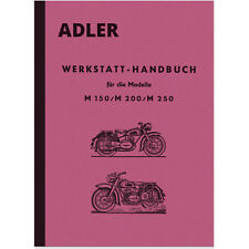 Adler M 150 200 250 Reparaturanleitung Werkstatthandbuch M150 M200 M250 MB
