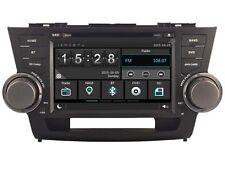 Car DVD Headunit Radio for Toyota Highlander 2008-2014GPS Navi WIFI 3G Bluetooth