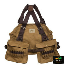 NEW AVERY OUTDOORS GHG HERITAGE STRAP VEST WITH GAME BAG & SHELL POCKETS TAN