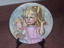 Limoge France Plate Pinky And Baby 1976