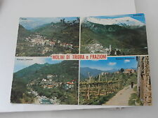 IMPERIA MOLINI DI TRIORA frazioni AGAGGIO ANDAGNA FG VG 1974 cartolina