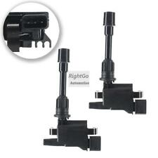 2 x Ignition Coils Ford Laser KN KQ 1.6L Mazda 323 BJ ZMD 98-03 4cyl 3 Terminal