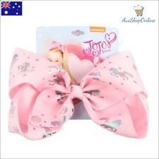 "BRAND NEW Jojo Siwa Large 8"" Pink Unicorn Hair Bow Girls Hair Accessories"