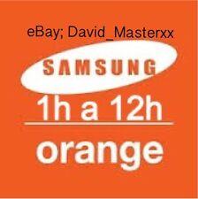 Liberar Samsung Orange España Unlock Todos Los Modelos (All Model)