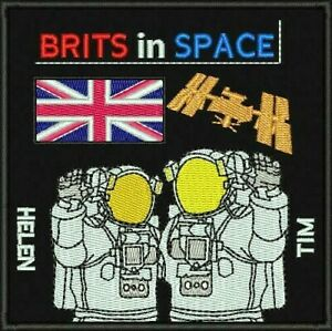 Brits in Space Limited Edition 'UK In Space Event' Embroidered Patch