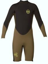 XCEL Youth 2.0 AXIS Back-Zip LS Springsuit - DBB - Size 12 - NWT