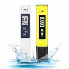Medidor de ph eletorot, prueba de calidad de agua digital TDS PH EC TEMPERATURA 4 en 1 Set
