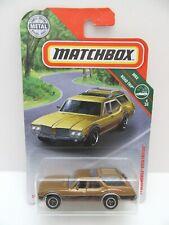 Matchbox Superfast '71 Oldsmobile Vista Cruiser - Gold/Brown - Mint/Boxed