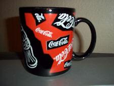 Coca Cola Black Coffee Cup Mug  Dakin