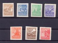 SBZ 29-36 X Freimarken Kreidepapier postfrisch komplett (rs139)