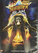 NEW!!! WWE: SummerSlam 2020 (DVD)
